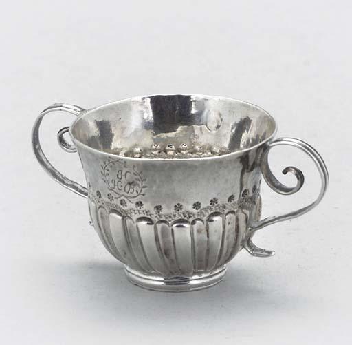 A William III silver miniature