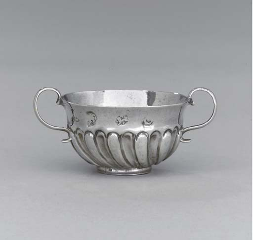 A William and Mary silver mini