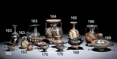 A LARGE GROUP OF POTTERY AND B