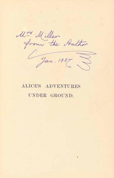 DODGSON, Charles Lutwidge ('Le