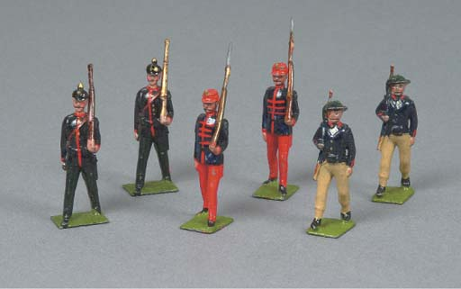 Britains European Infantry