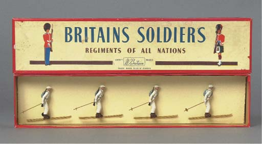A Britains Set 2027 Ski Troops