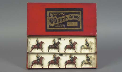 A rare Britains Set 87 Types of the British Army