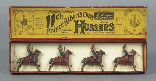 A rare Britains B Series Set 10B 11th Hussars