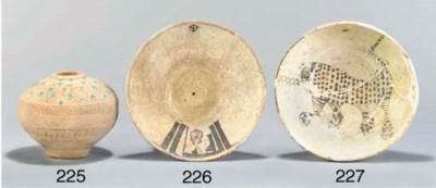 A Nishapur pottery bowl, North