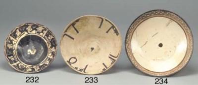 A Nishapur pottery bowl, 10th