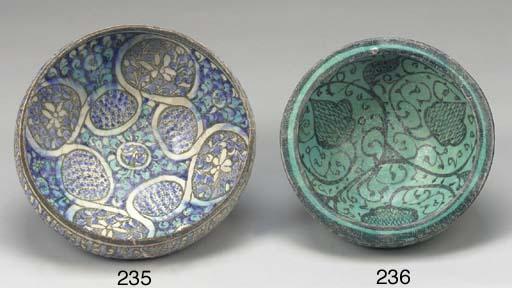 A Sultanabad bowl, North Iran,
