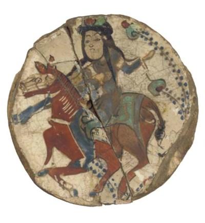 A Minai pottery bowl fragment,
