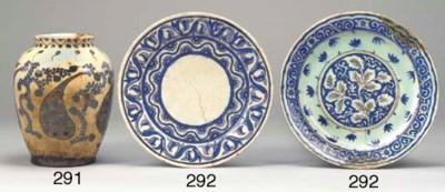 A Safavid plate, Iran, 17th ce