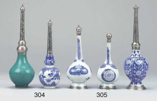 Three Kangxi blue and white Is