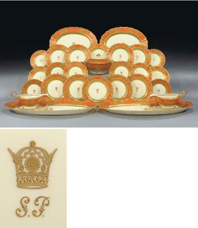 A Rosenthal dinner service mad