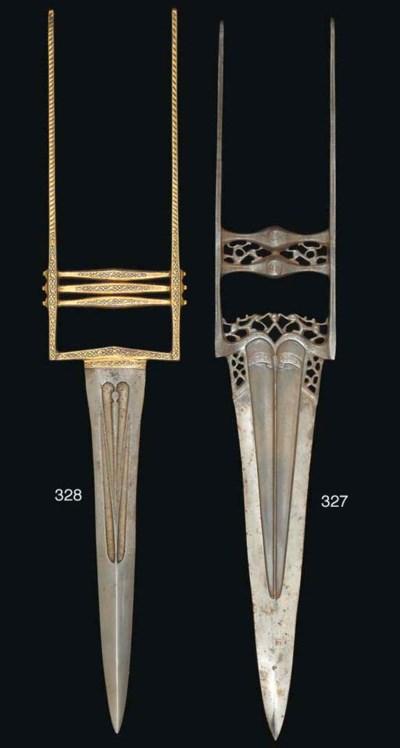 A steel stabbing dagger (katar