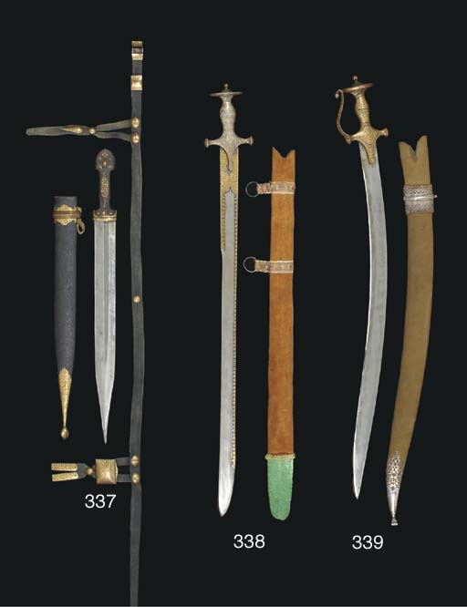 A Rajasthani sword (Tulwar), N