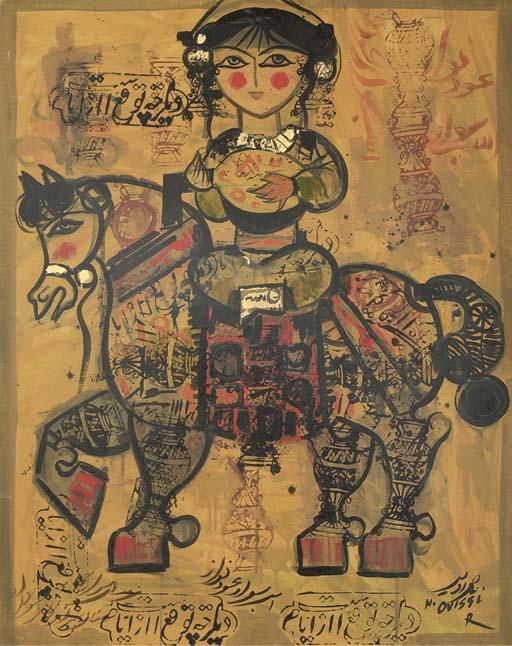 NASSER OVISSI (IRAN B. 1934) U