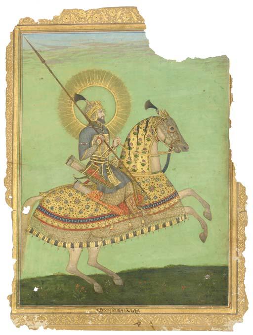 EQUESTRIAN PORTRAIT OF EMPEROR