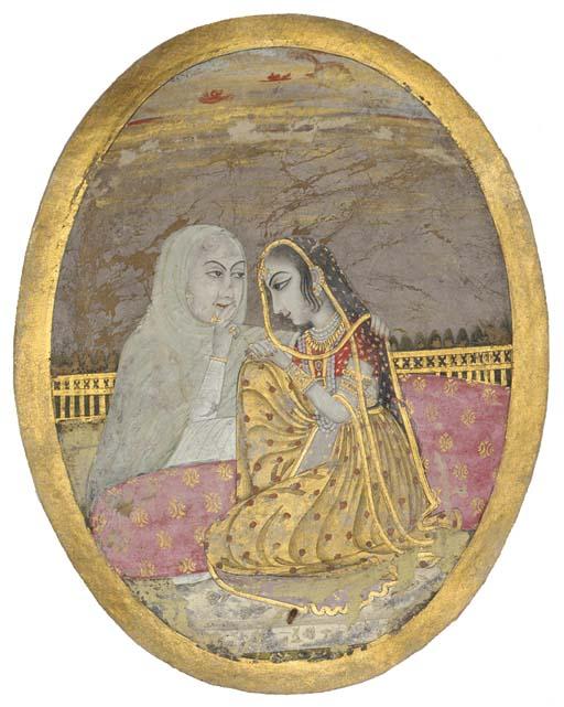 WOMEN ON A TERRACE, MURSHIDABA