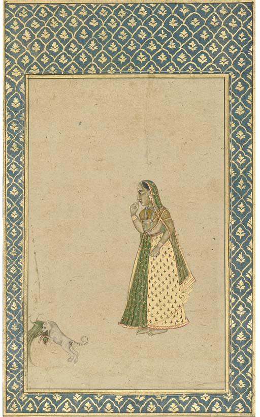A CAT THAT CATCHES A GIRLS PAR