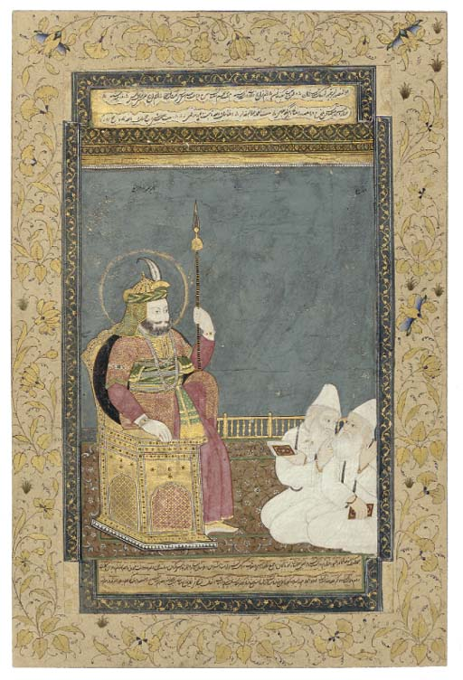 TIMUR IN THE COMPANY OF SCHOLA
