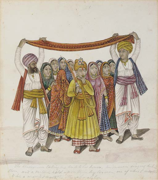 THE BRIDEGROOM AND HIS BRIDE,