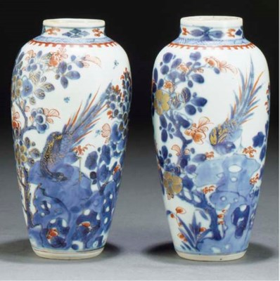 A pair of tapering Chinese Ima