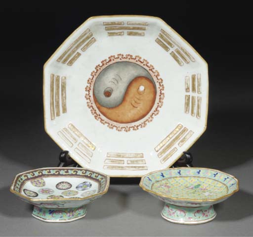 A Chinese octagonal famille ro