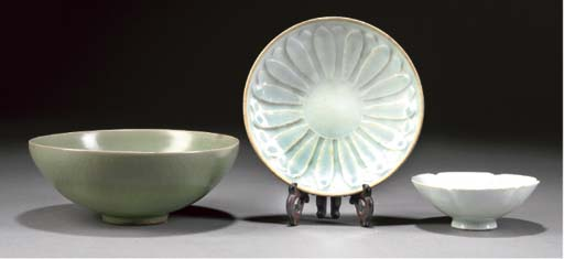 A yingqing saucer dish, Song Dynasty