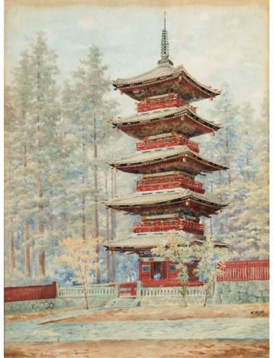 K. Mori, a Japanese watercolou