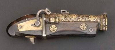 A miniature wood and iron mode