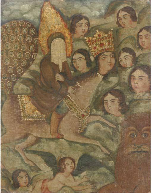 THE PROPHET ON BURAQ, IRAN, 18