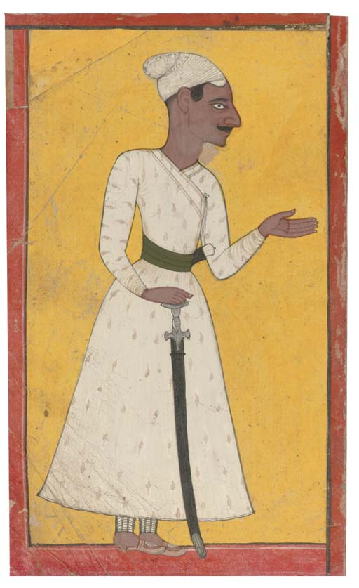 PORTRAIT OF A RULER, MANKOT, 1