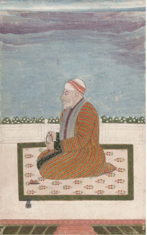 PORTRAIT OF A RULER, MUGHAL, 1