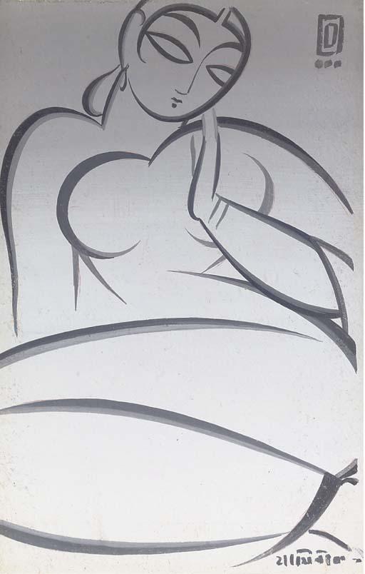 JAMINI ROY (India 1887 - 1972)