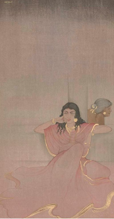 NANDALAL BOSE (INDIA 1882 - 19