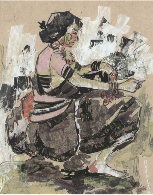 SWAPAN BHANDARLY (b. 1960) UNTITLED