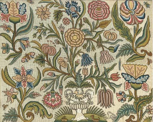 A fine embroidered picture, un
