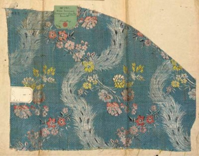 A collection of brocades, incl