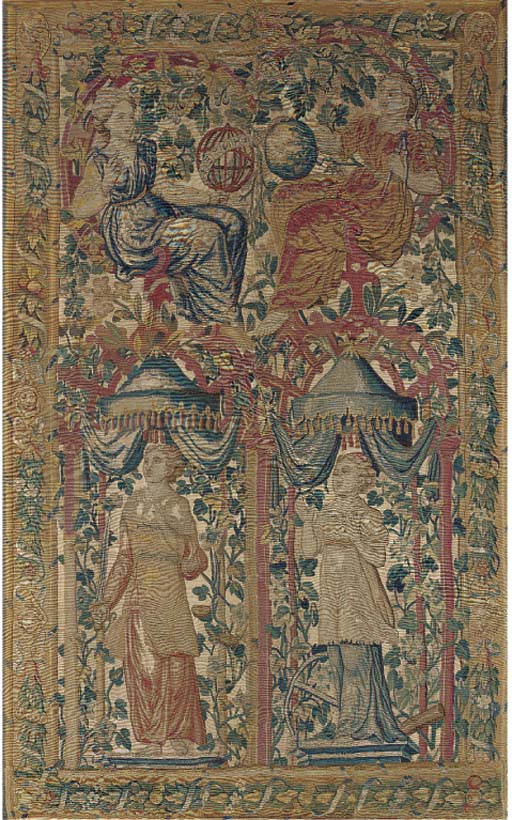A tapestry panel composed of j