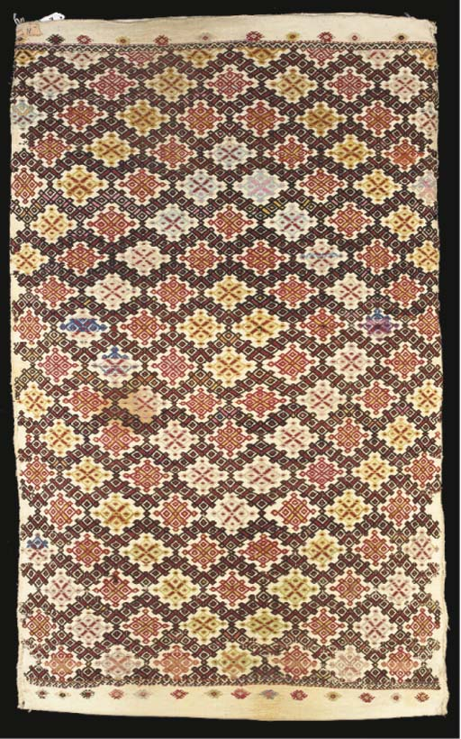 A Verneh embroidered runner--1