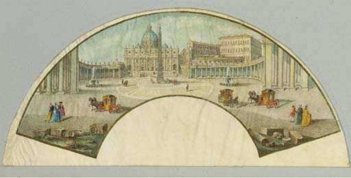 St. Peter's Rome, an unmounted