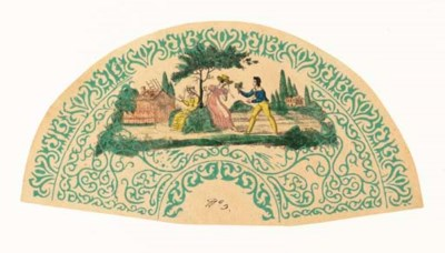 The Proposal, a printed fan le