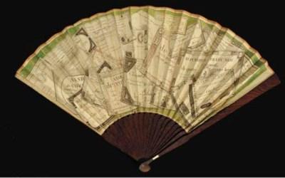 An Assignat fan, a fan, the le