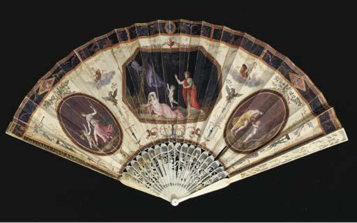 A fan, the chickenskin leaf pa