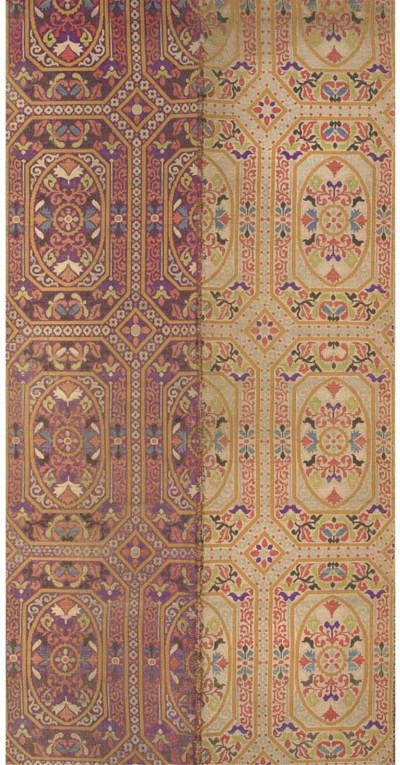 A collection of textiles, incl