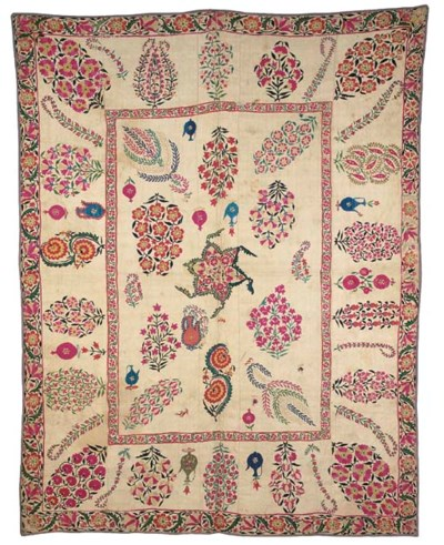 A Nurata Susani, the quilted c