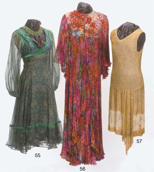 A BEADED DRESS, 1920s