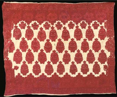 A PILLOW COVER, RABAT, LATE 19