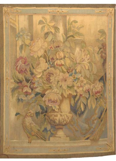 A STILL LIFE TAPESTRY, FRENCH,