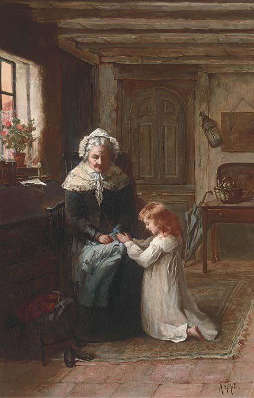 Annie Stewart Miles, late 19th