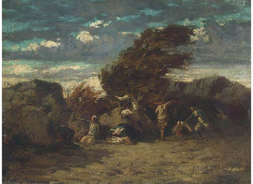 Follower of Gustave Courbet
