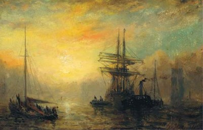 Adolphus Knell (British, fl.18
